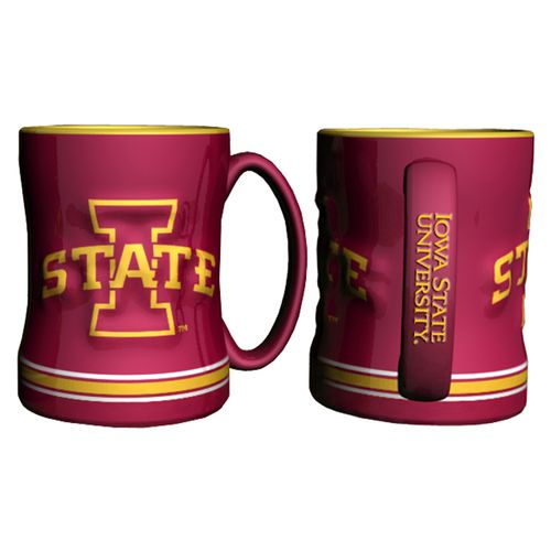 Boelter Brands Iowa State University 14 oz. Relief Mugs 2-Pack