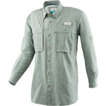 Magellan Outdoors™ Men's Aransas Pass Heather Long Sleeve Fishing Shirt