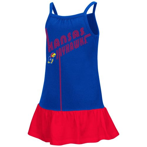 Colosseum Athletics Toddler Girls' University of Kansas Disco Tank Dress