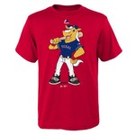 Majestic Boys' Texas Rangers Mascot Short Sleeve T-shirt