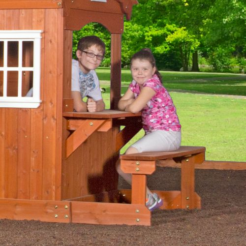 Backyard Discovery™ Shenandoah Wooden Swing Set - view number 6