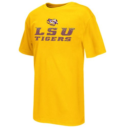 Colosseum Athletics™ Boys' Louisiana State University Pixel Short Sleeve T-shirt