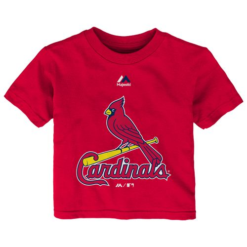 Majestic Infants' St. Louis Cardinals Logo T-shirt