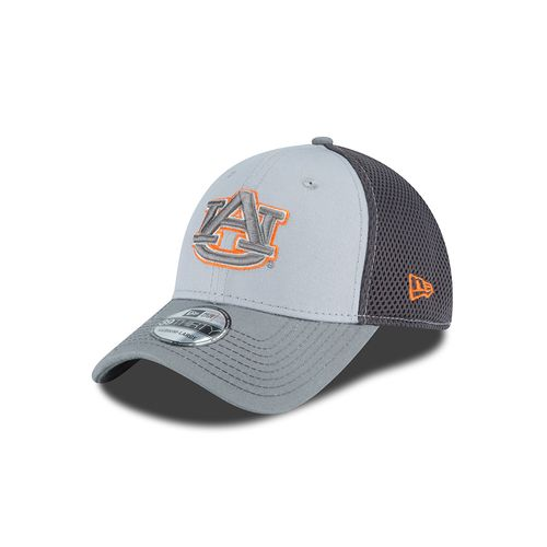 New Era Men's Auburn University Grayed Out Neo 39THIRTY Cap