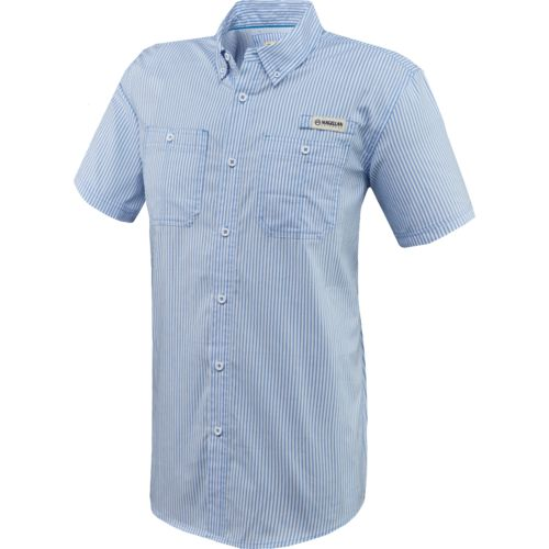 Magellan Outdoors Men's Padre Island Plaid Short Sleeve Shirt