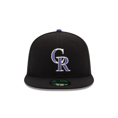 New Era Men's Colorado Rockies 2016 59FIFTY Cap - view number 4