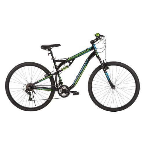 "Huffy Men's Tocoa 27.5"" 21-Speed Dual Suspension Mountain Bike"