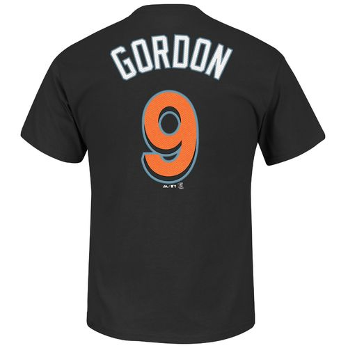 Majestic Men's Miami Marlins Dee Gordon #9 T-shirt