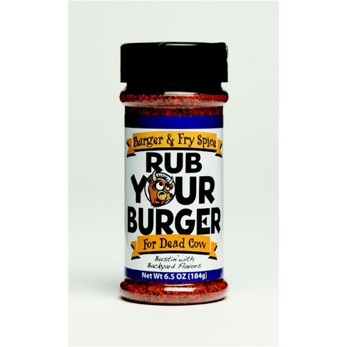 BBQ Spot Rub Your Burger 6.5 oz. Seasoning
