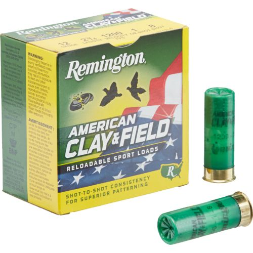 Display product reviews for Remington American Clay & Field 12 Gauge Reloadable Sport Loads