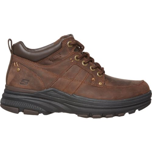 SKECHERS Men's Holdren Lender Casual Boots