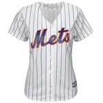 Majestic Women's New York Mets Travis d'Arnaud #7 Cool Base Replica Home Jersey