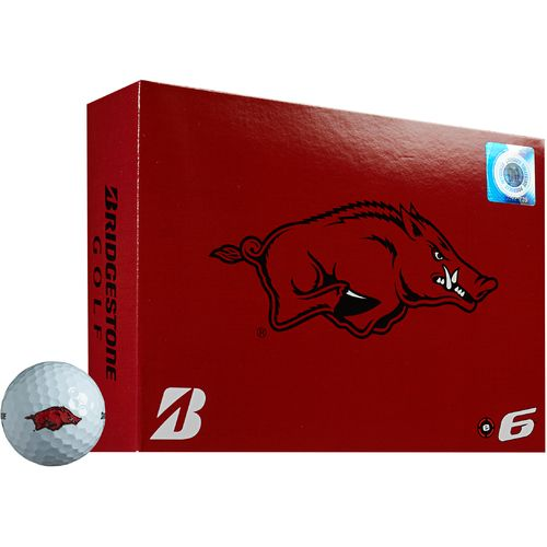 Bridgestone Golf University of Arkansas e6 Golf Balls 12-Pack
