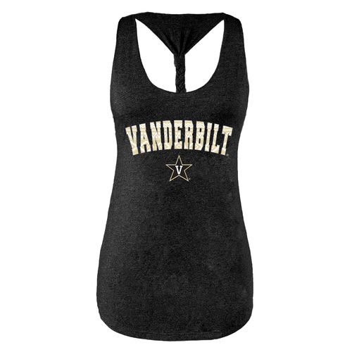 Chicka-d Women's Vanderbilt University Braided Tank Top