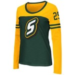 Colosseum Athletics™ Women's Southeastern Louisiana University Hornet Football Long Sleeve