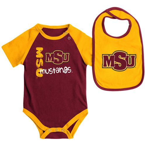 Colosseum Athletics™ Infants' Midwestern State University Rookie Onesie and Bib Set