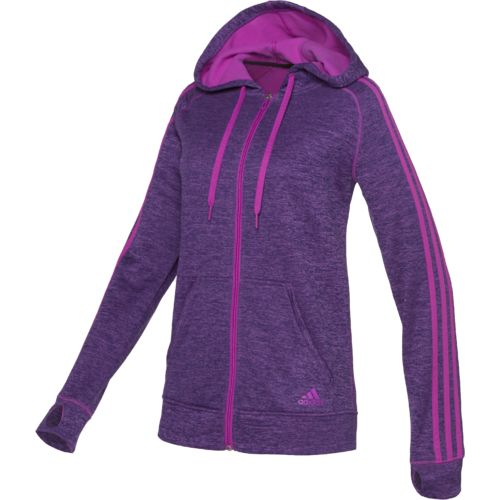 adidas™ Women's Team Issue 3-Stripes Full Zip Hoodie
