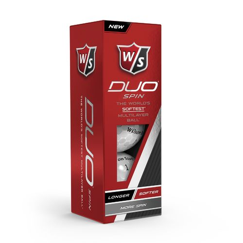Wilson Staff DUO Spin Performance Golf Balls 12-Pack - view number 4
