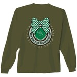 New World Graphics Women's University of North Texas Ribbon Bow Long Sleeve T-shirt