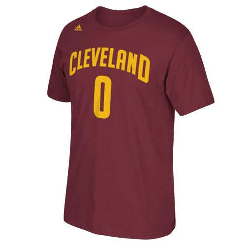 adidas Men's Cleveland Cavaliers Kevin Love No. 0 High Density T-shirt - view number 2