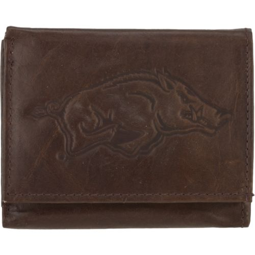 Rico Men's University of Arkansas Trifold Wallet
