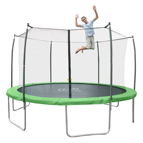 Pure Fun Dura-Bounce 12' Round Trampoline with Enclosure - view number 8