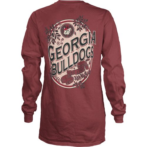 Three Squared Juniors' University of Georgia Maya Long Sleeve T-shirt