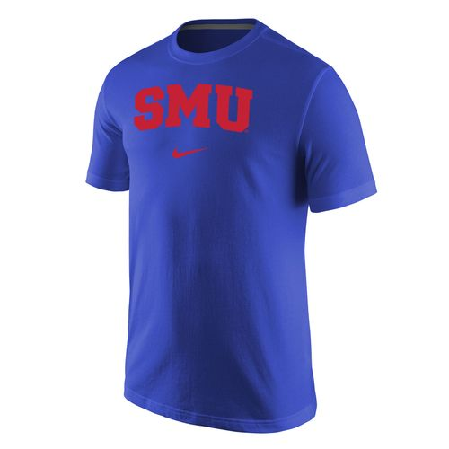 Nike Men's Southern Methodist University Wordmark T-shirt
