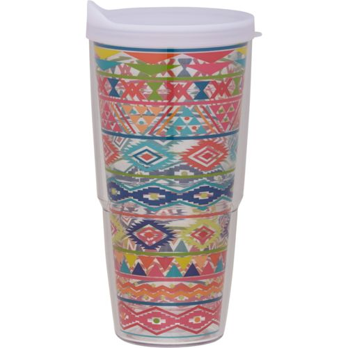 Tervis Bright Aztec 24 oz. Colossal Tumbler with Lid - view number 1