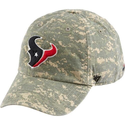 '47 Houston Texans Officer Camo Cleanup Cap