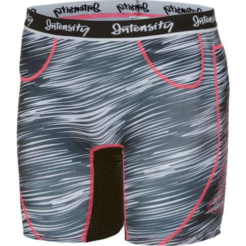 Intensity Women's Hook Slide Low Rise Printed Slider Short