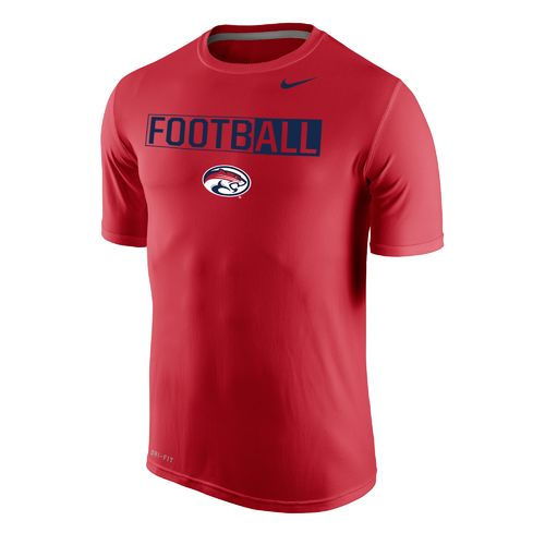 Nike™ Men's University of Houston Dri-FIT Legend 2.0 Short Sleeve T-shirt