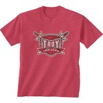New World Graphics Men's Troy University Alt Graphic T-shirt