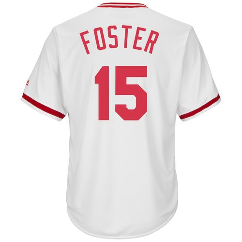 Majestic Men's Cincinnati Reds George Foster #15 Cool Base Cooperstown Jersey