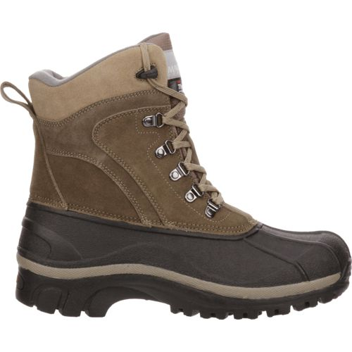 Magellan Outdoors Mens Pac Winter Boots (Brown/Brown)