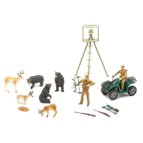 New-Ray Toys Hunting and Fishing Playset Assortment - view number 4