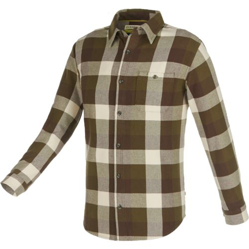 Magellan Outdoors™ Men's Brawny Plaid Long Sleeve Shirt