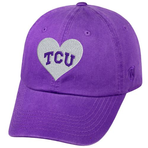 Top of the World Women's Texas Christian University Lovely Cap