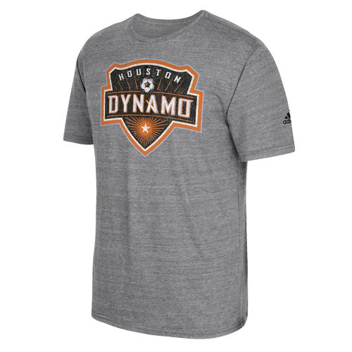 adidas Men's Houston Dynamo Vintage Too T-shirt - view number 1