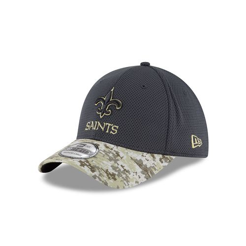New Era Men's New Orleans Saints 39THIRTY Salute to Service Cap