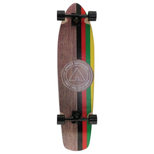"Airwalk Icon Rasta 36"" Longboard"