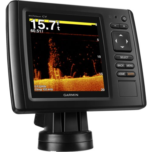 Garmin echoMAP 53cv GPS Map and Fishfinder Combo