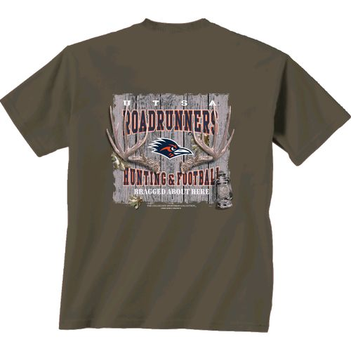 New World Graphics Men's University of Texas at San Antonio Hunting Camp T-shirt