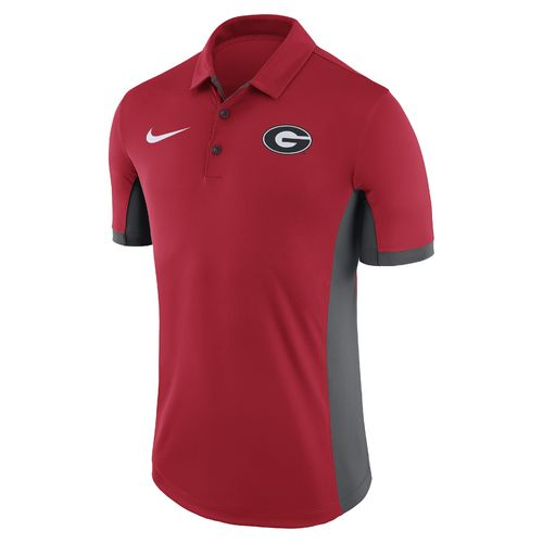 Nike™ Men's University of Georgia Dri-FIT Evergreen Polo Shirt