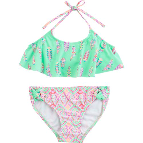 O'Rageous Kids Girls' Bohemian Princess 2-Piece Bikini Swimsuit