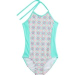 O'Rageous Kids Girls' Light Medallion 1-Piece Bathing Suit - view number 1