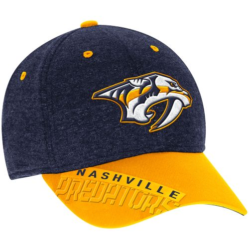Reebok Men's Nashville Predators Playoff Structured Flex Cap