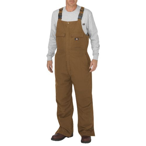 Dickies Men's Flex Sanded Stretch Duck Insulated Bib Overall