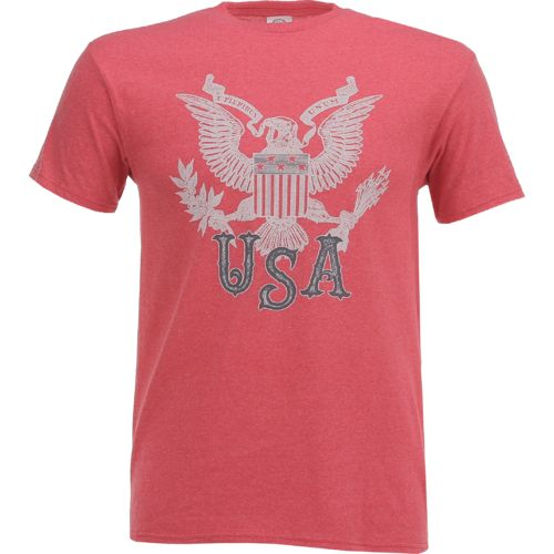 Display product reviews for Academy Sports + Outdoors Men's E Pluribus Eagle T-shirt