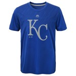 MLB Boys' Kansas City Royals Geo Fuse Fade T-shirt - view number 1
